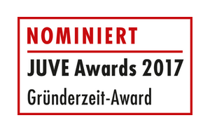 JUVE Awards Nominierung 2017