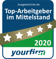 Yourfirm Award – TLI Steuerberater Top Employer mid-sized sector 2020